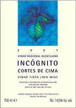2011 Cortes De Cima Incognito