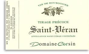 2007 Domaine Corsin Saint-Veran