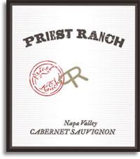 2012 Priest Ranch Cabernet Sauvignon Napa Valley