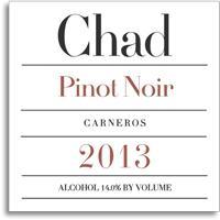 2011 Chad Pinot Noir Carneros