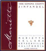 Vv Marietta Cellars Zinfandel Sonoma County