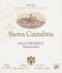 2005 Bodegas Sierra Cantabria Rioja Gran Reserva