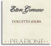 2010 Ettore Germano Dolcetto Dalba Pradone