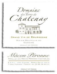 2011 Domaine Des Terres De Chatenay Macon Peronne