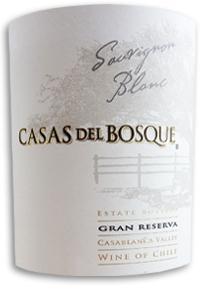 2013 Casas Del Bosque Sauvignon Blanc Gran Reserva Casablanca Valley