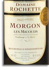2011 Domaine Rochette Morgon Cote De Py