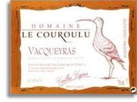 2011 Domaine Le Couroulu Vacqueyras Vieilles Vignes