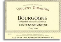 2010 Domaine/Maison Vincent Girardin Bourgogne Rouge Cuvee Saint Vincent