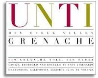 2012 Unti Vineyards Grenache Dry Creek Valley