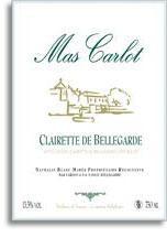2012 Mas Carlot Clairette De Bellegarde