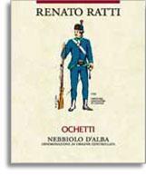 2008 Renato Ratti Nebbiolo d'Alba Ochetti