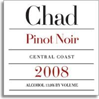 2010 Chad Pinot Noir Central Coast