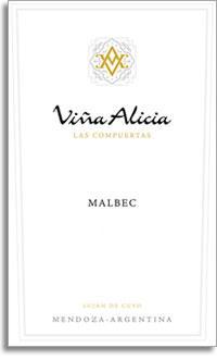 2009 Vina Alicia Malbec Las Compuertas Lujan De Cuyo