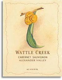 2006 Wattle Creek Winery Cabernet Sauvignon Alexander Valley