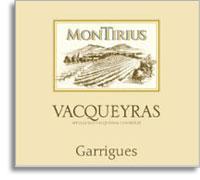 2009 Domaine Montirius Vacqueyras Garrigues