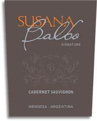2013 Susana Balbo Cabernet Sauvignon Signature Mendoza