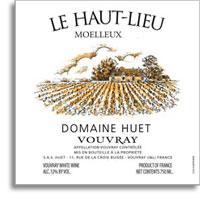 2008 Domaine Huet Vouvray Le Haut Lieu Moelleux