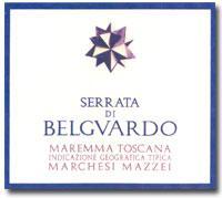 2010 Belguardo Serrata Di Belguardo Maremma Toscana Rosso