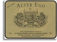 2012 Chateau Palmer Alter Ego Margaux