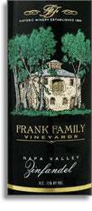 2008 Frank Family Vineyard Zinfandel Napa Valley