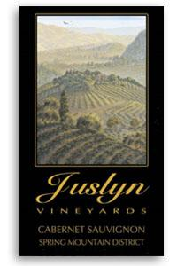 2001 Juslyn Vineyards Cabernet Sauvignon Estate Spring Mountain District Napa Valley