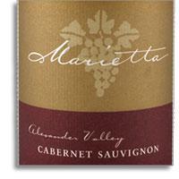 2008 Marietta Cellars Cabernet Sauvignon