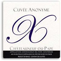 2009 Xavier Vignon Chateauneuf Du Pape Cuvee Anonyme