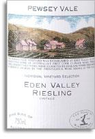 2004 Pewsey Vale Vineyard Riesling Eden Valley