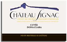 2010 Chateau Signac Cotes Du Rhone Villages Chusclan Cuvee Dona Clara Rose