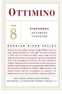 2007 Ottimino Vineyards Zinfandel Estate Russian River Valley