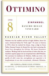 2005 Ottimino Vineyards Zinfandel Little 8 Rancho Bello Vineyard Russian River