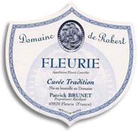 2011 Domaine De Robert Fleurie Cuvee Tradition