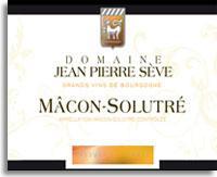 2010 Jean Pierre Seve Macon Solutre