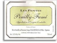 2010 Domaine Serge Dagueneau et Filles Pouilly-Fume Les Pentes