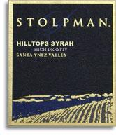 2010 Stolpman Vineyards Syrah Hilltops High Density Estate Santa Ynez Valley