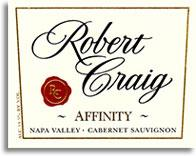 2008 Robert Craig Cabernet Sauvignon Affinity Napa Valley