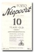 NV Niepoort Tawny Port 10 Year Old