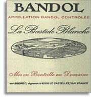2011 La Bastide Blanche Bandol Rose