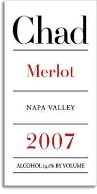 2007 Chad Merlot Napa Valley