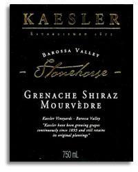 2010 Kaesler Wines Stonehorse Grenacheshirazmourvedre Barossa Valley