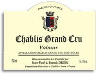 2009 Domaine Jean-Paul & Benoit Droin Chablis Valmur
