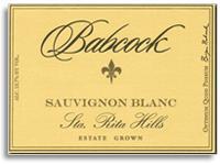 2012 Babcock Vineyards Sauvignon Blanc Sta Rita Hills