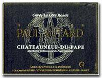 1998 Domaine Paul Autard Chateauneuf-du-Pape La Cote Ronde