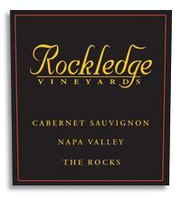 2009 Rockledge Vineyards Cabernet Sauvignon The Rocks Napa Valley
