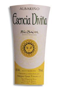 2011 Adegas Gran Vinum Esencia Divina Albarino Rias Baixas