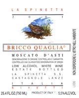 2013 La Spinetta/Giorgio Rivetti Moscato d'Asti Bricco Quaglia