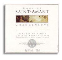 2012 Saint-Amant Grangeneuve Beaumes-du-Venise
