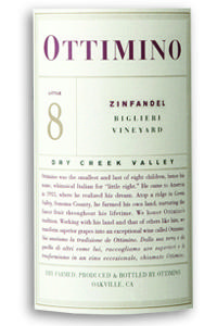 2014 Ottimino Zinfandel Biglieri Vineyard Dry Creek Valley