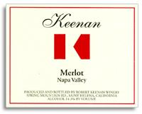 2007 Robert Keenan Winery Merlot Napa Valley