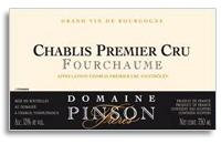 2009 Domaine Pinson Freres Chablis Fourchaume